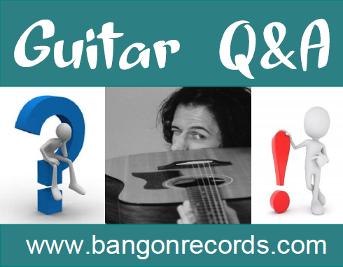 Guitar Q and A